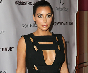 Kim Kardashian Flaunts Crazy Cleavage With Kris Jenner At The Grove
