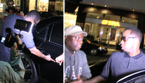 Diddy's Wild Night -- Hangs with J.Lo!! But Gets His Maybach Scratched Up