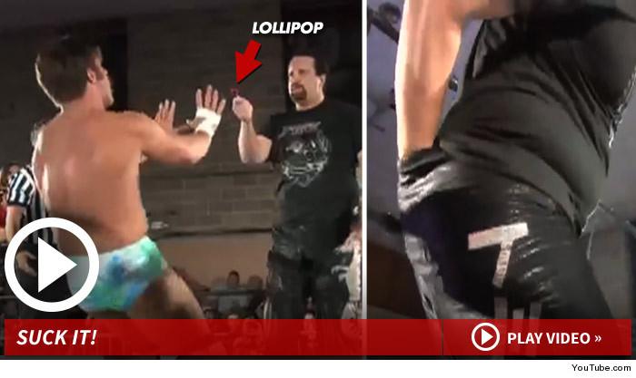 Tommy Dreamer Wrestling Blow Pop