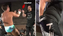 Wrestling Star Tommy Dreamer -- 2 Guys, 1 Blow Pop