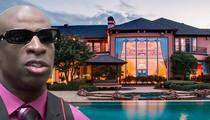 Deion Sanders -- Legendary Texas Mega-Mansion ... Up For Auction!