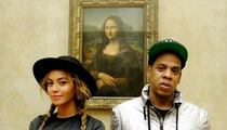 Beyonce & Jay Z -- Louvre Us Alone! (PHOTO)