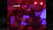Floyd Mayweather -- THUNDERSTORMIN' ... At Famous L.A. Nudie Bar [Video]