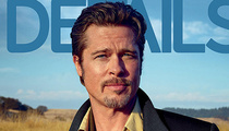 "Brad Pitt Talks Fatherhood in Details: ""I Don't Suck at Being a Dad"""