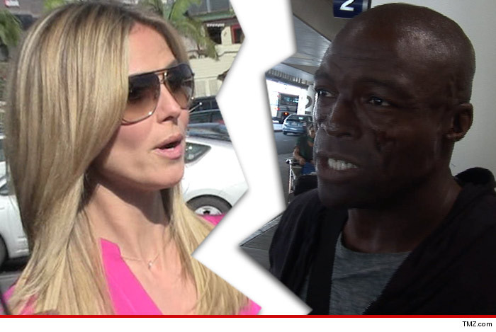 Seal Heidi Klum Divorce