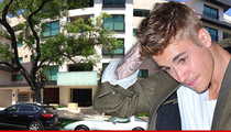 Justin Bieber -- Homecoming Party Busted Up by Cops