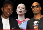 Lakers Star Nick Young -- BLASTS SNOOP ... After Rapper Disses GF Iggy Azalea