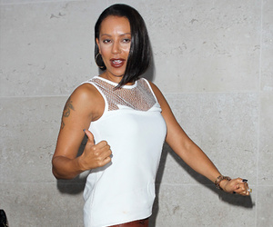 Mel B Suffers Major Makeup Malfu
