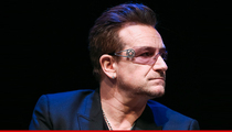 Bono -- I Don't Wear Shades Indoors to Be a Douche ... I HAVE GLAUCOMA!