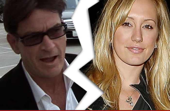 Charlie Sheen Break Up