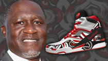 Dominique Wilkins -- BRINGIN' REEBOK PUMPS BACK ... With Custom Paint Job