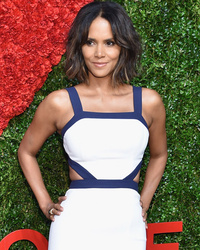 Halle Berry Debuts Bob Haircut at Golden Hear