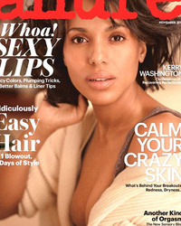 Kerry Washington Goes Makeup-Free on the Cover of Allure
