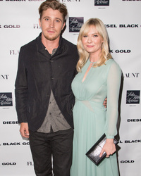 Kirsten Dunst Hits The Red Carpet With Garrett Hedlund, Debuts New Bangs!