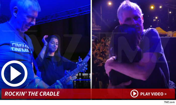 Black Flag Founder Greg Ginn -- Creepy Concert Footage Fuels Custody Battle (VIDEO)