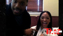 Ray J and Princess Love -- Surprise!! We're Back Together ... For Now