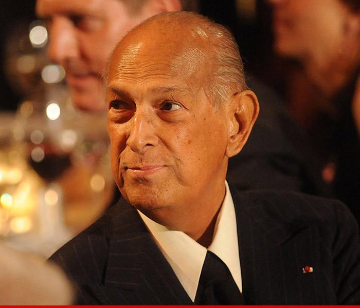 Famed Designer Oscar de la Renta Dead — Dies at 82