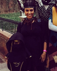 Kourtney Kardashian Visits Disneyland With Mason -- See Their Cute Costumes!