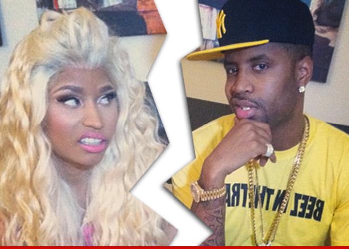 Nicki Minaj Kicks Her Boyfriend To The Curb — There's Only Room For ONE Star