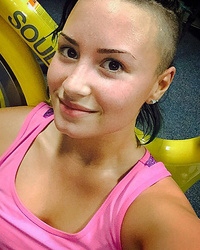 Demi Lovato Works Up a Sweat In Gorgeous Makeup-Free Selfie