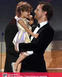Matthew McConaughey's Daughter Steals the Show at American Cinematheque Awards