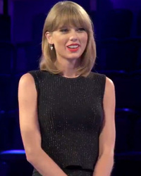 "Taylor Swift Greets Fans, Says She's Crazy in ""The Voice"" Sneak Peek"
