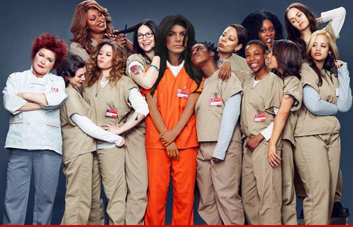 "Teresa Giudice Will Serve Her Time At ""Orange Is The New Black"" Prison"
