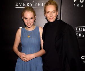 Uma Thurman's 16-Year-Old Daughter Maya Looks Just Like Her!