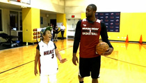Dwyane Wade -- Plays 1-On-1 With 90-Year-Old ... Makes Us All Cry