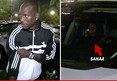 Tyrese and Sanaa Lathan -- After Dinner Date ... Come On Back To The Crib