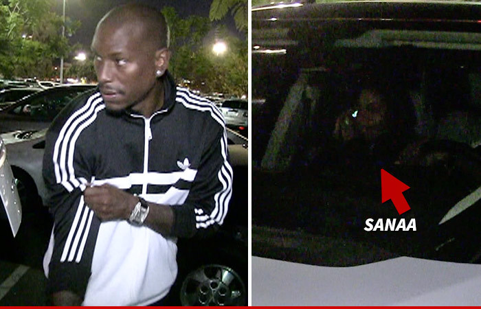 Tyrese and Sanaa Lathan — After Dinner Date … Come On Back To The Crib [VIDEO]