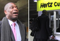 Dikembe Mutombo -- Hilarious Rental Car Fail ... I'm Too Damn Big!!
