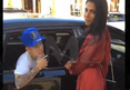 Justin Bieber -- Hits On Hot Model Using Disney Pickup Line