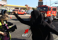 Kat Von D -- Flips Out on Reporters After Tattoo Shop Fire