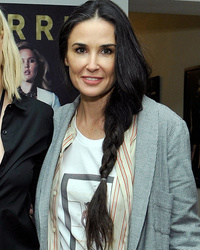 Demi Moore Makes Rare Red