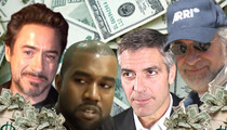 Spielberg, Downey, Clooney ... Celebrities Owed a Fortune in Unclaimed Property