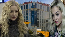 Iggy Azalea & Rita Ora -- Anemic Vegas Offer to Perform