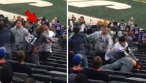 NY Jets Fan -- KO'S BILLS FAN ... In Brutal Stadium Fight