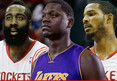 Houston Rockets Stars -- Visit Lakers Rookie in Hospital ... After Brutal Leg Injury