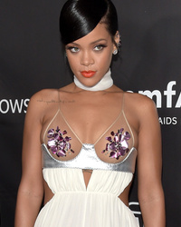 Rihanna, Miley and More Show Major Skin at amfAR Inspir