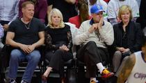 Shelly Sterling -- Attends Clippers Game ... As Team's #1 Fan