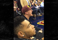 Johnny Manziel -- Curses Out Referee at Cavaliers Game