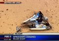 Virgin Galactic Spaceship EXPLODES ... Pilot Dea