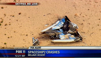 Virgin Galactic Spaceship EXPLODES ... Pilot Dead