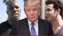 Terrell Owens -- BATTLING A JONAS BROTHER ... On 'Celeb Apprentice'