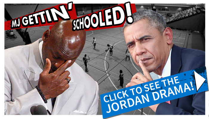 michael jordan obama photo