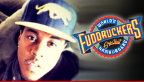 Jeremih Causes Fuddruckus at Fuddruckers