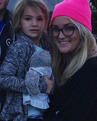 Jamie Lynn Spears Shares Cute Family Photo -- Maddie Is So Big Now!