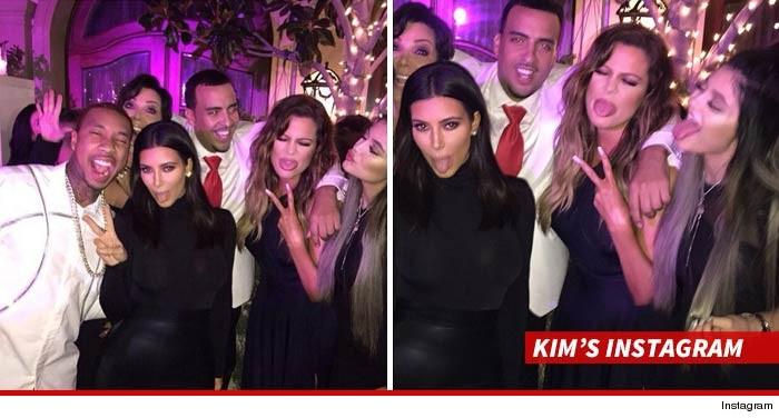 Kim Kardashian Kylie Jenner Dating Tyga