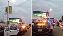 Tyga -- New Run-In with Cops ... Rowdy Music Video Shut Down